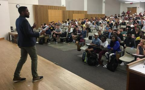 Damon Jones guest lecture